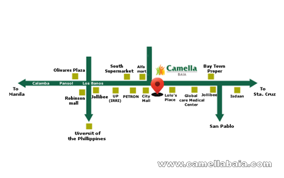 Camella Baia Location and Amenities