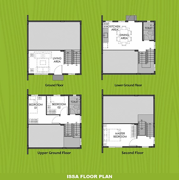 Issa Floor Plan House and Lot in Los Banos