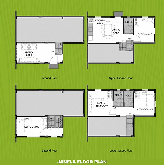 Janela Floor Plan House and Lot in Los Banos