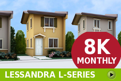 Lessandra Affordable Houses in  Camella Baia