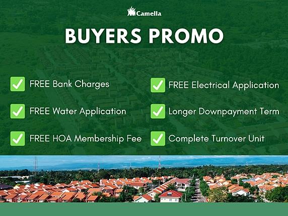 Promo for Camella Baia.