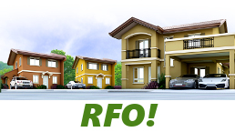 RFO Units for Sale in Camella Baia.